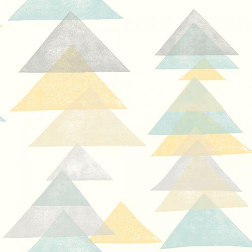 Papel de Parede Dwell Studio Baby Kids DW2342 Triângulo