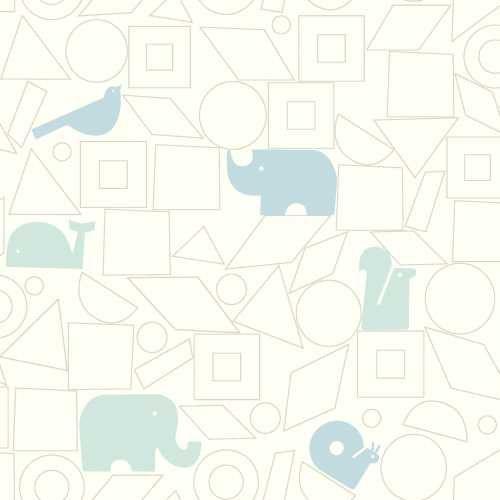 Papel de Parede Dwell Studio Baby Kids DW2443 elefante