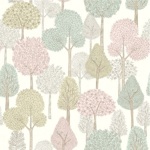 Papel de Parede Dwell Studio Baby Kids DW2401 floresta