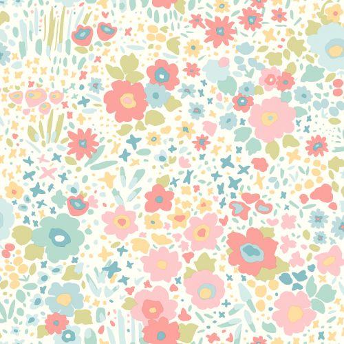 Papel de Parede Dwell Studio Baby Kids DW2381 floral