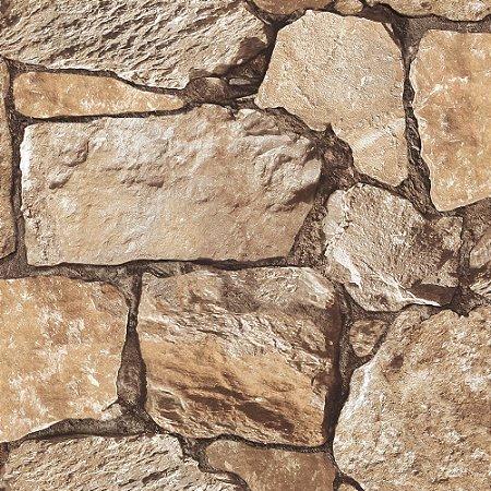 Papel De Parede Vinilico Roll In Stones J95508