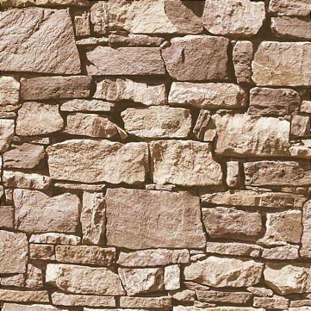 Papel De Parede Vinilico Roll In Stones J45708
