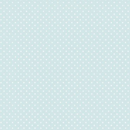 Papel de Parede Lullaby Poá Azul Tiffany 2275