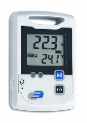 Data Logger Log 100 -  Termômetro   -30°C a  +70°C, com alarme sonoro e  memória de 60.000 dados - 3030.20.0.00 - Incoterm