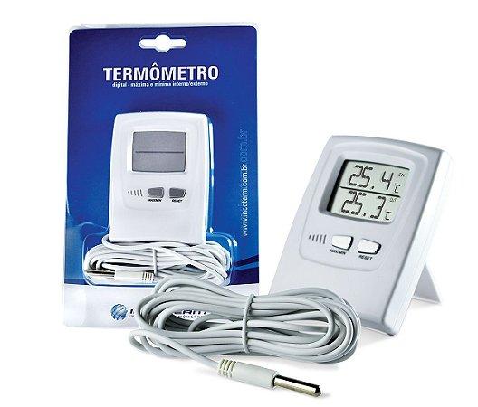 Termômetro Máxima e Mínima Digital Incoterm 7665.02.0.00