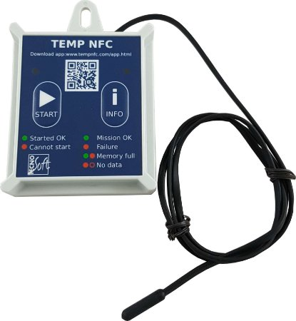 Data Logger TEMPNFC RC COM SONDA EXTERNA – Rigid Case Incoterm