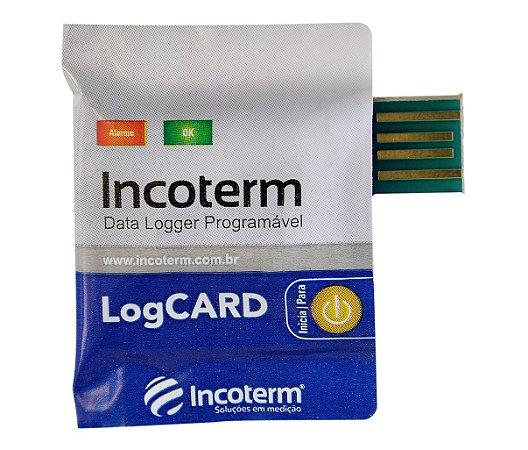 Data Logger Descartável LogCARD Incoterm