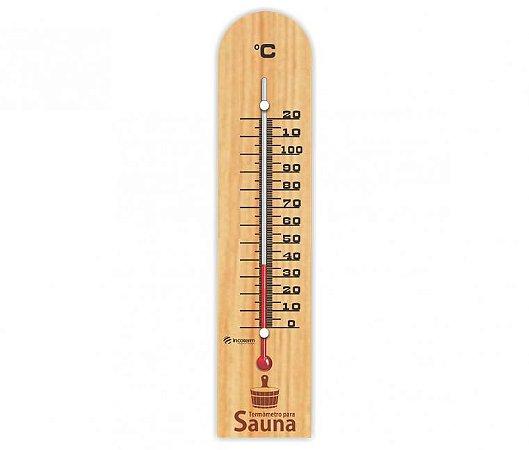 Termômetro para Sauna Incoterm TS 235.02.0.01