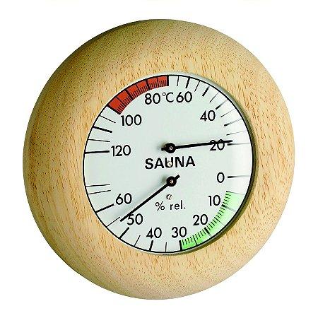 Termo-Higrômetro para Sauna Incoterm A-DIV-0064.00