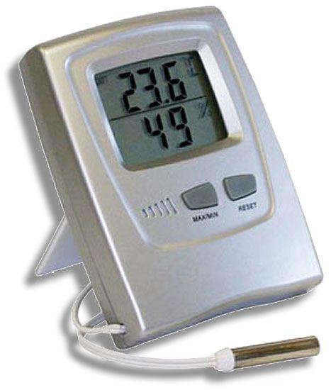 Termo-Higrômetro Digital Temperatura e Umidade Internas 7666.02.0.00