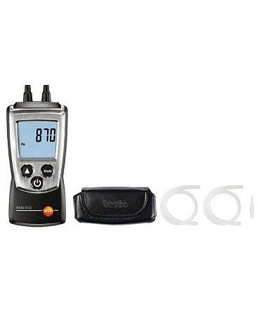 kit Instrumento de medição de pressão diferencial testo 510