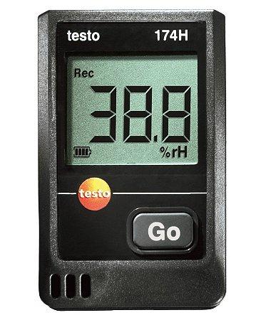 Mini data logger para temperatura e umidade testo 174 H