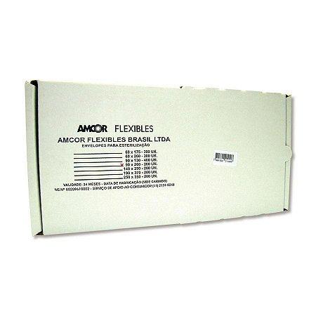 Envelope Auto-Selante para Autoclave 90x260mm - com 200 Und. Amcor