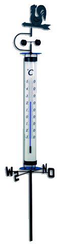Termômetro para Jardim WEATHER COCK Incoterm A-DIV-0086.00