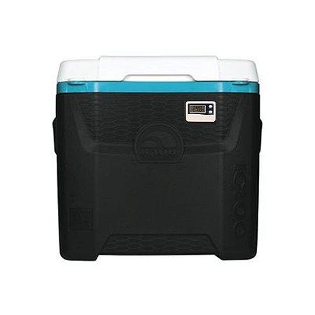Caixa Térmica 11 litros com Termômetro Digital e Certificado de Calibração Acreditado RBC