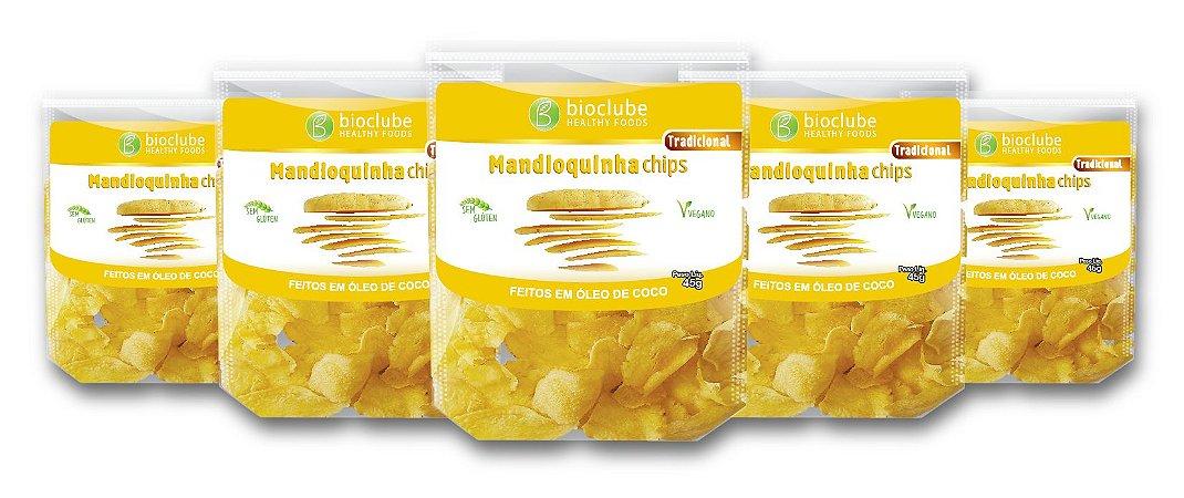 Chips de Mandioquinha - kit com 5 unidades