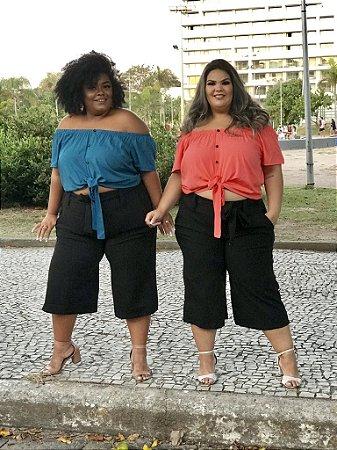 CALÇA PRETA PANTACOURT