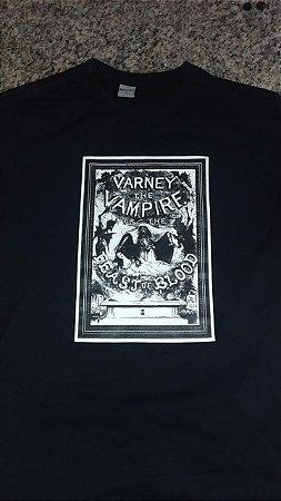 "Camiseta ""Varney, the Vampire"" - Tamanho GG"