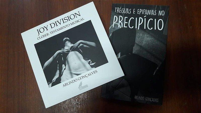 Combo: Joy Division - Closer: Testamento Musical + Tréguas e Epifanias no precipício (Arlindo Gonçalves)