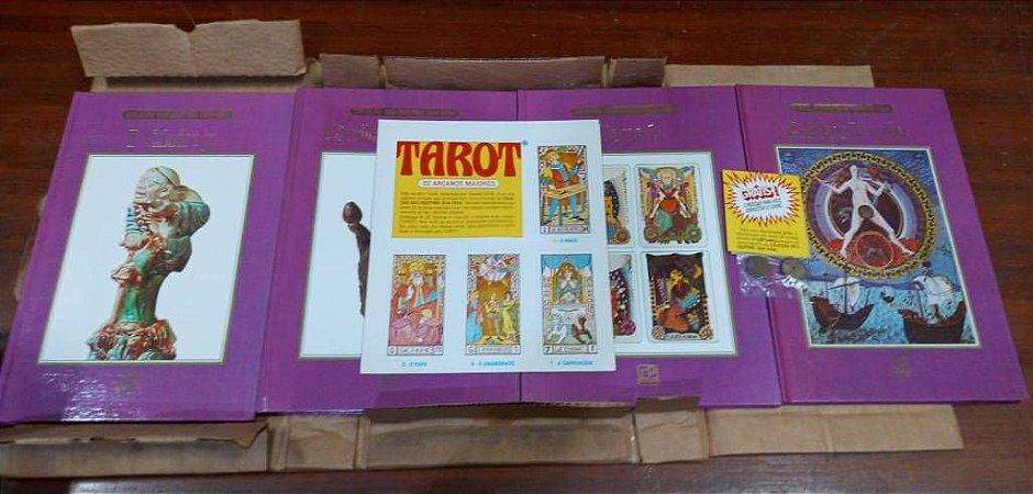 Coleção Seu Destino Sua Vida - Caixa contendo: Tarot (com cartas) - Astrologia -  I Ching (3 moedas) e Quiromancia