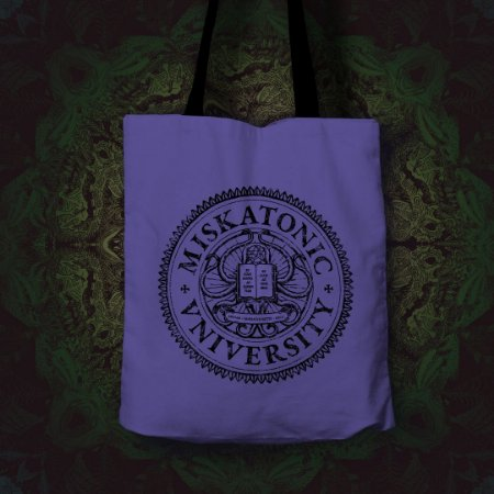 Ecobag Miskatonic University (Lovecraft)