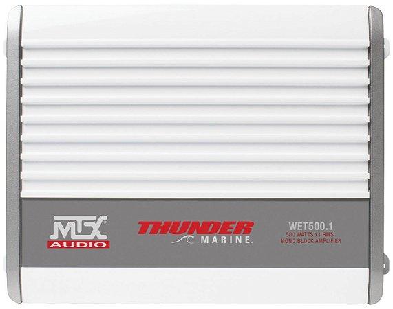 AMPLIFICADOR MTX MARINE WET500.1 1CH 500W