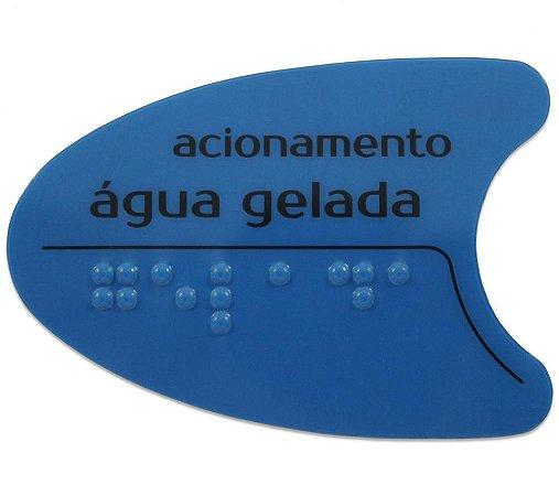 Adesivo IBBL Azul Tecla Frontal BDF/PDF/SMART H2O