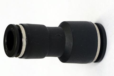 Conector redução reto 8mm x 10mm