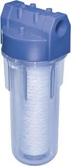 Filtro Aquaplus para Cavalete AP 250 3/4 x 3/4 Transparente