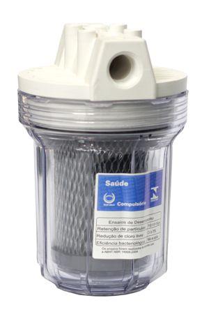 Filtro Aquablock Pequeno Transparente