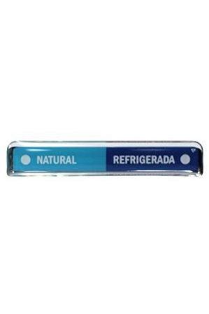 Adesivo Latina Natural e Gelado Azul
