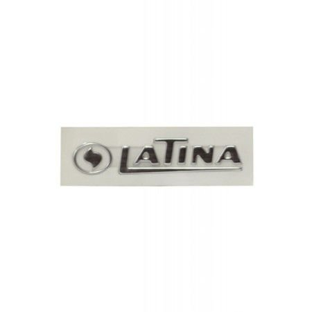 Adesivo 3D Logo Latina Cod 730326