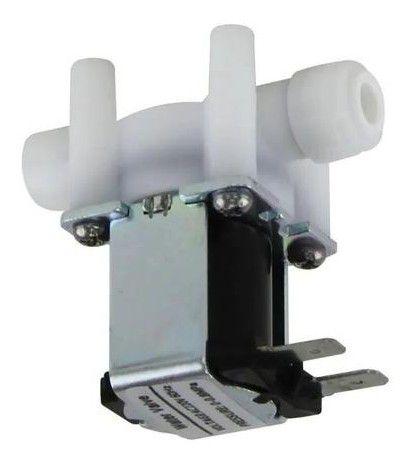 Válvula Solenoide Conector Rapido 1/4 X 1/4 127 Volts
