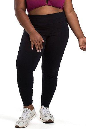 Legging Anabela Preta Plus Size