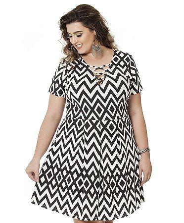 Vestido PV Estampado Nolita Plus Size