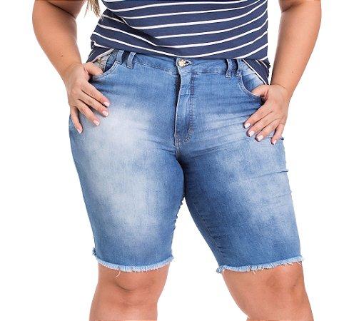 Bermuda Ciclista Stuhler Jeans Plus Size