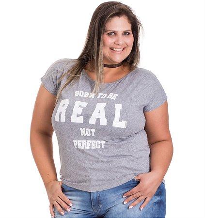 Blusão Viscolycra com Estampa Vitalite Plus Size