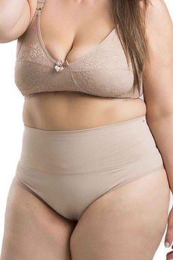 Calcinha Modeladora Salience Plus Size