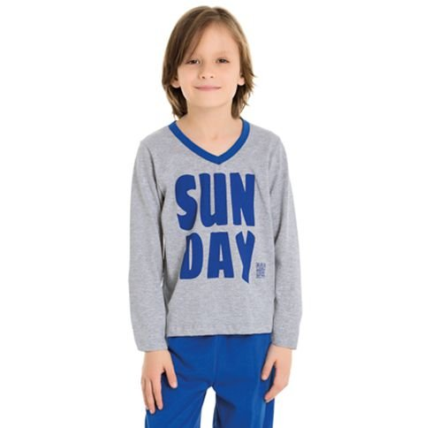 Pijama Infantil masculino Divertido Família Bela Notte