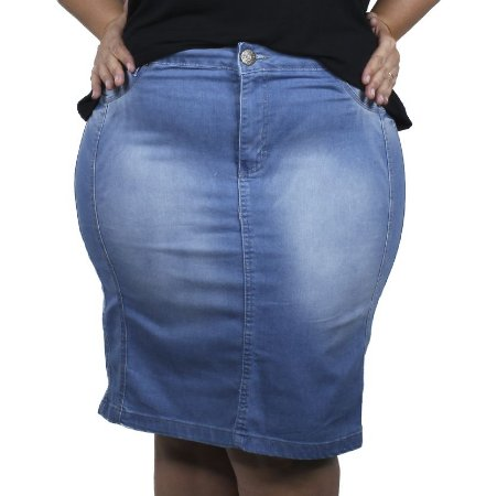 Saia Jeans Six Sigma Plus Size