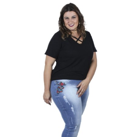 Calça Cropped By Unna Plus Size