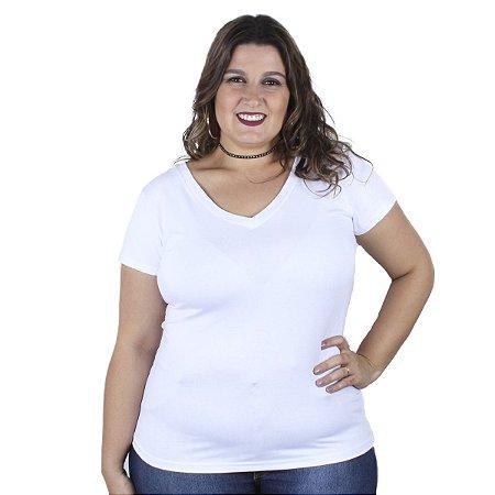 Blusa básica Kibeleza Plus Size
