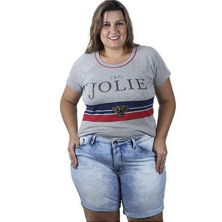 Bermuda Jeans Boyfriend By Unna Plus Size