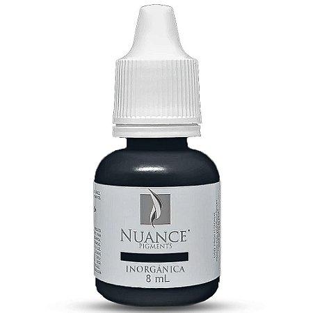 Pigmento Nuance Black 8ml Inorganico Para Micropigmentacao