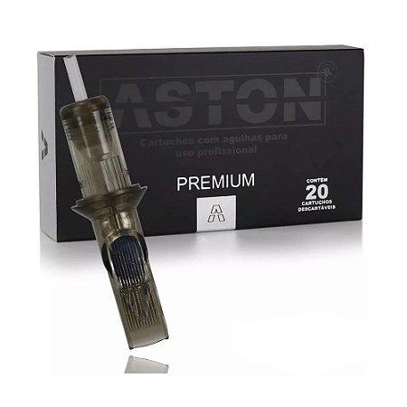 Cartuchos Aston Premium Para Tatuagem 15MG 0,30mm Caixa Com 20 Unidades