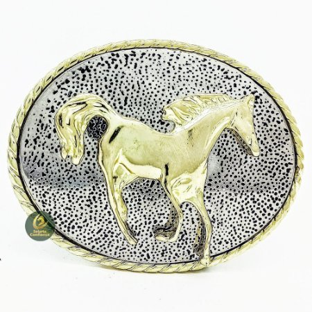 Fivela Country Cavalo Gold SC1732