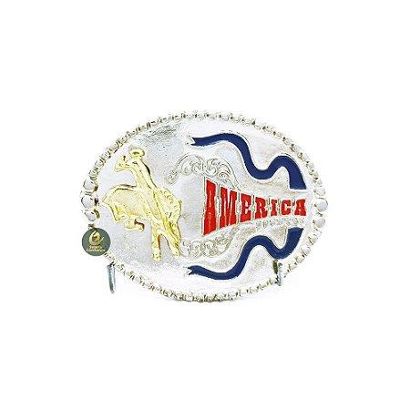 Fivela Country Infantil America Cowboy SC1779