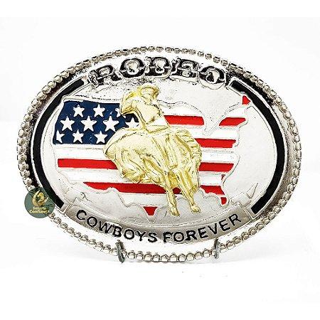 Fivela Rodeo Cowboys Forever SC1701