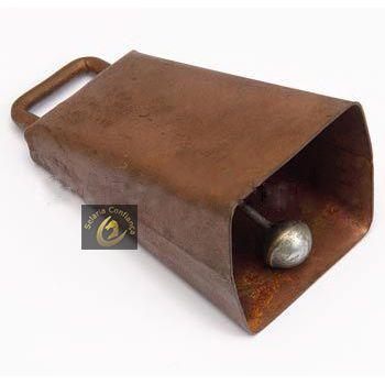 Cincerro de Ferro Cobreado Nº18 SC9107