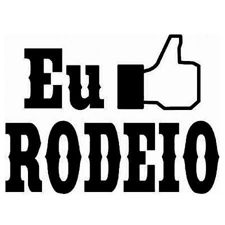Adesivo Eu Curto Rodeio SC3711